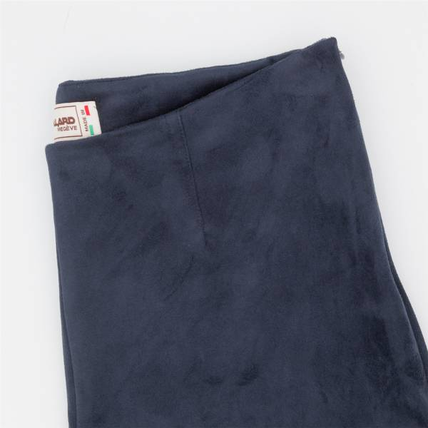 Pantalon cigarette ecopel extensible navy