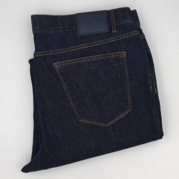Jeans 5 poches marine . .