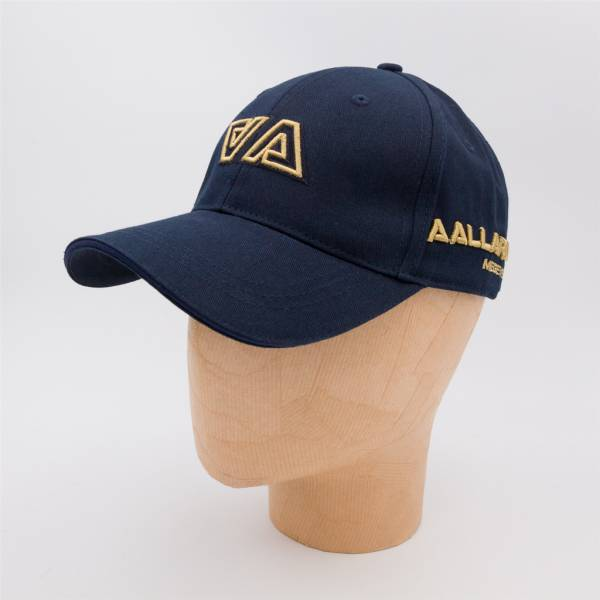 Casquette coton AA navy gold